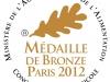 Médaille de bronze 2012